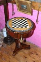 georgr 1V Specimen arble Top Table by Guiseppe Dermanin Malta