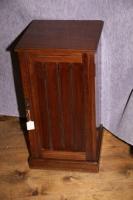Edwardian Mahogany Bedside Locker