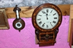 Inlaid 8 Day Clock (Leufer Tuam)