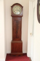 Mahogany Grandfather Clock (Gordan & Fletcher. Dublin)